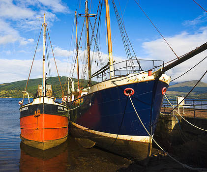Jane McIlroy - Inverary Harbour - Scotland