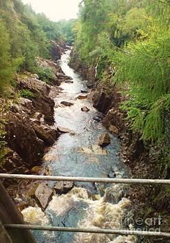 Inverlair Falls by John Williams