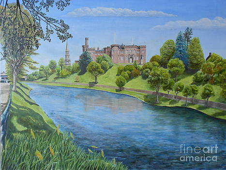 Inverness Castle by David Paterson