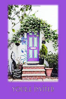 Mother Nature - Invitation Greeting Card - Street Garden