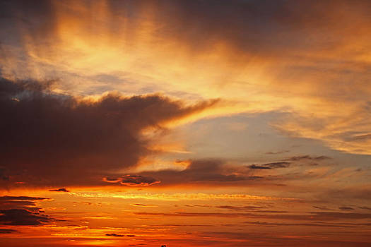 Iowa Sunset 3 by Steve  Yezek