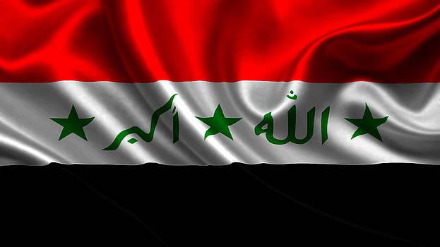 Valdecy RL - Irak Flag