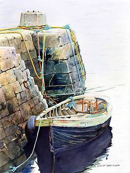 Ireland Boat by Brenda Beck Fisher