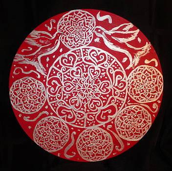 Iridescent Crimson by Amy Hassan