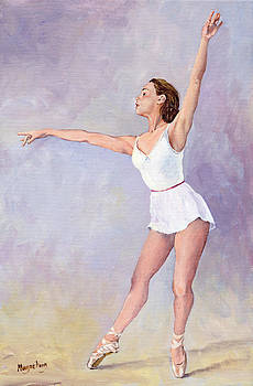 Irina in acrylics by Margaret Merry