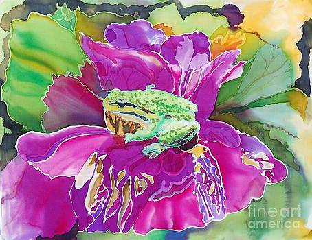 Iris and the frog by Henny Dagenais