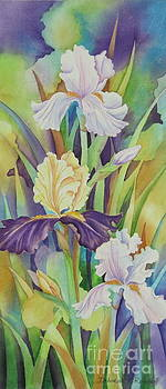 Iris Serenade by Deborah Ronglien