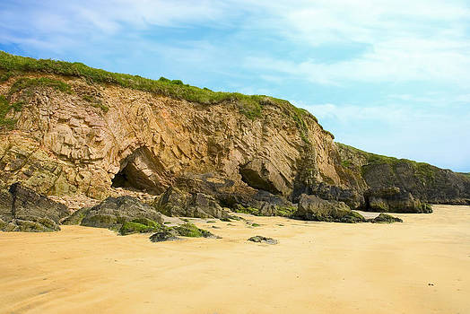 Irish beach by Beata Dagiel