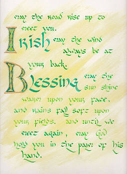 Irish Blessing  by David  Speck