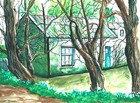 Irish cottage by Jeanne Grant