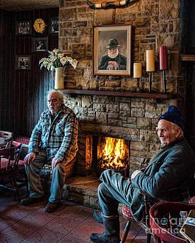 Irish Fisherman at the Pub by Kerri Garrison