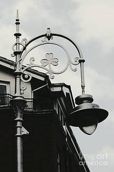 Irish Lampost by Kiana Carr