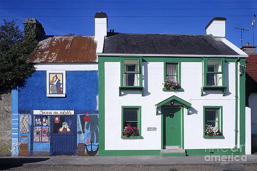 Irish painted houses by Derek Croucher