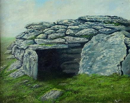 Irish Stone Ruins by Fineartist Ellen
