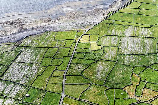 Irish Stone Walls by Juergen Klust