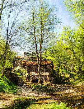 Weston Westmoreland - iron and wood - the old smithy