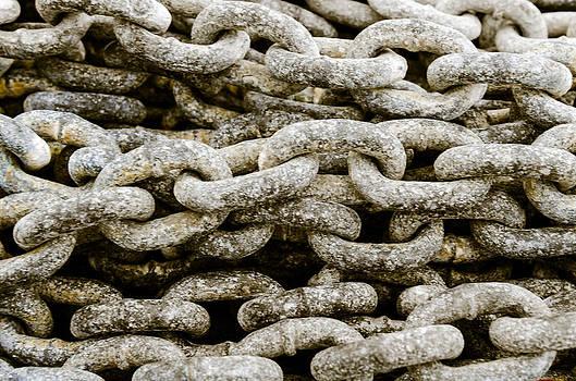 Iron chains. by Slavica Koceva