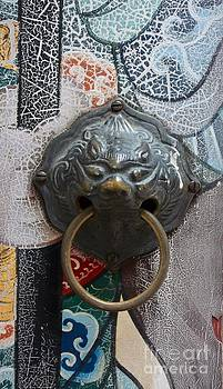 Iron Door bell  by Bobby Mandal