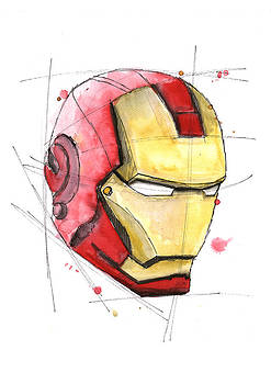 Iron Man by Astrid Rieger