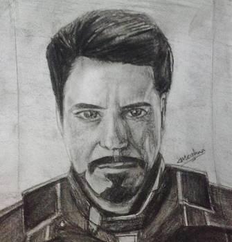 Iron Man by Meghna Suvarna