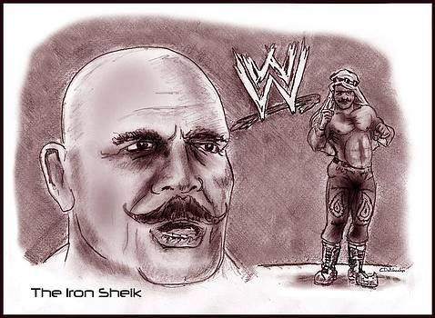 Iron Sheik by Chris  DelVecchio