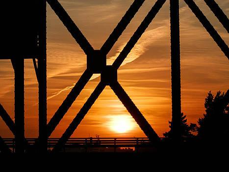 Iron Sunset by Heather Sylvia