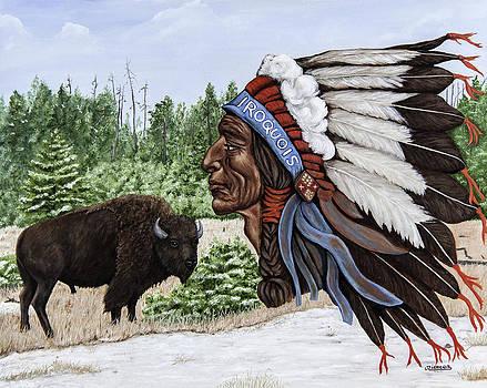 Jim Ziemer - Iroquois Beer Logo