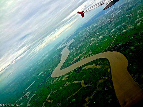Irrawaddy River Myanmar by Kornrawiee Miu Miu