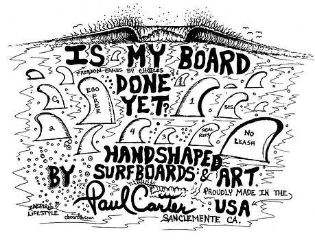 Paul Carter - Is my board done yet #1