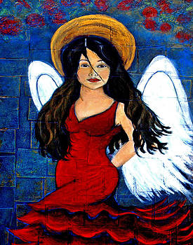 Isabella  A Spanish Earth Angel From Cultures Around The World by The Art With A Heart By Charlotte Phillips