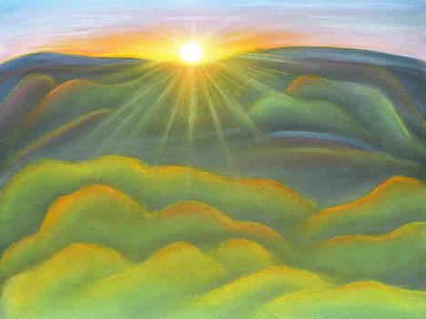 Isla Gorge Sunset by Judith Chantler
