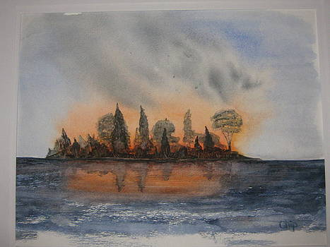 Island Fire by Chip Picott