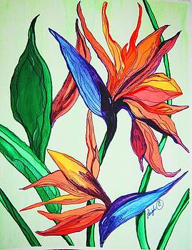 Island Flower by Sharon Leigh