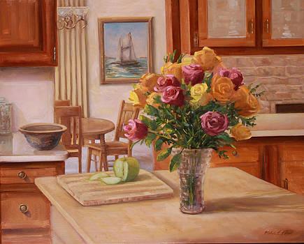 Island Flowers by Michele Tokach