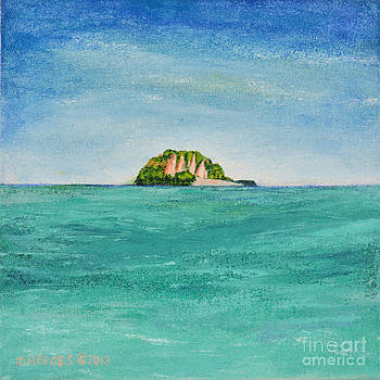 Island for Two by Jack Hedges