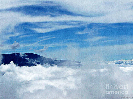Island in the Clouds by Chris Sotiriadis