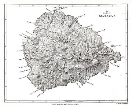 Wellcome Images - Island Of Ascension Visited By Darwin