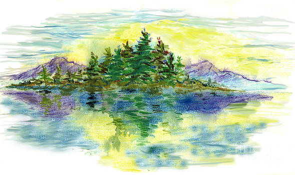 Ellen Miffitt - Island Reflections
