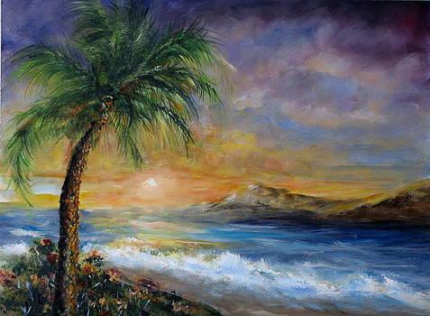Island Sunrise by Thomas Restifo