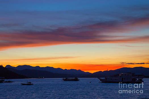 Fototrav Print - Island sunset