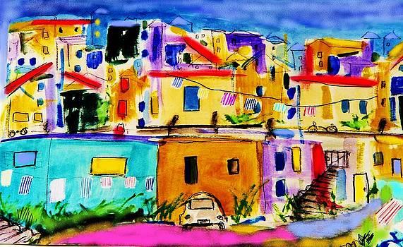 Island Village by Ashley Schutte
