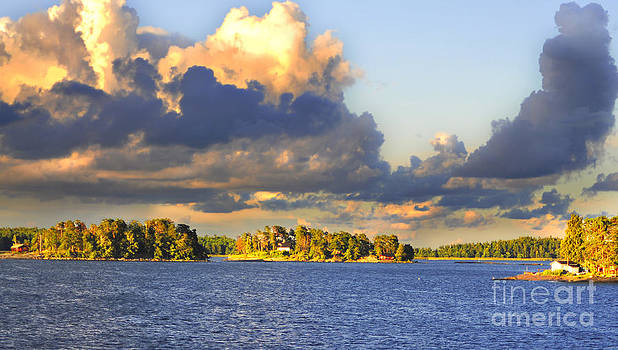 Islands of Finland II by Lilianna Sokolowska