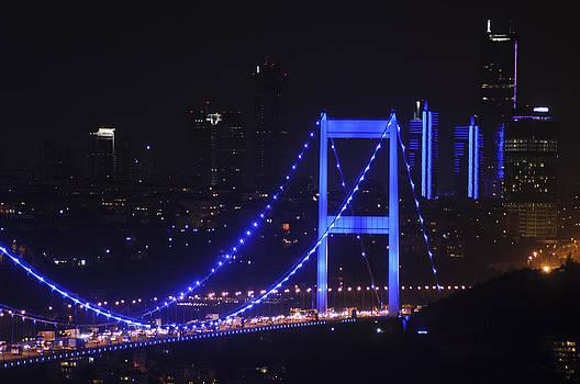 Istanbul blue by Atalay Karacaorenli