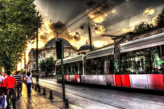 Istanbul's Light Rail by Mark Alexander