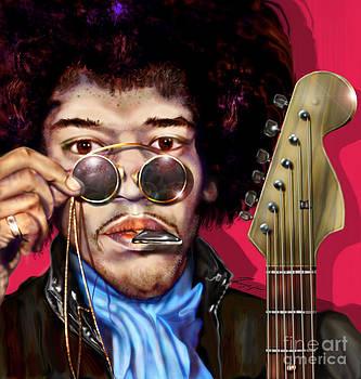 It Got To Be The Pick - Jimi Hendrix Series by Reggie Duffie