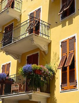 Corinne Rhode - Italian Balconies