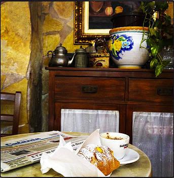 Italian breakfast by Maksim Zurabiani