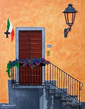 Italian Doorsteps by Barbara Pelizzoli