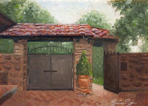 Italian Gate by Jamie Pogue