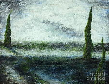 Italian Landscape by Emily Young